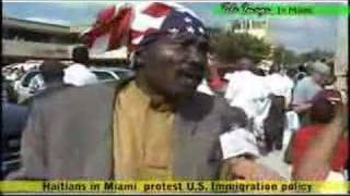 Haitians In Miami Protest U S Immigration Policy