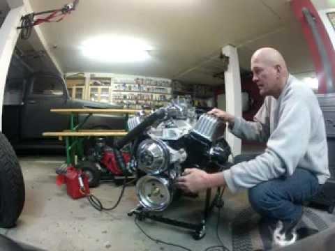 5 7 liter Chevy V8. Test Run