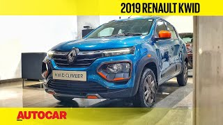 2019 Renault Kwid Facelift Walkaround | First Look Review | Autocar India