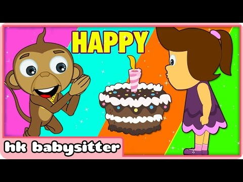 Happy Birthday Song Plus More Kids Party Songs | By Hooplakidz Babysitter video