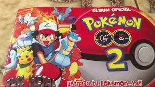 album  oficial de pokemon
