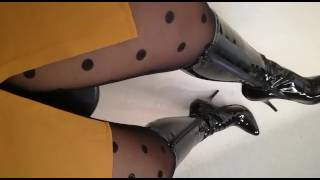 My new Domina High Heel Boots. A Gift from my online Slave...