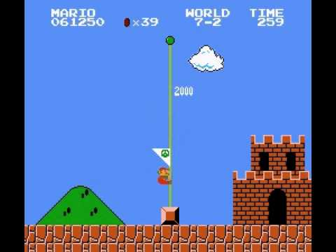 Sirius Mario Bros 1 - Vizzed.com Play World 7 - User video