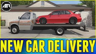 NEW CAR DELIVERY!!! - BeamNG.Drive Gameplay
