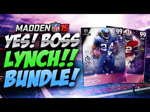 Madden 15 Ultimate Team - AHH NO WAY 99 BOSS MARSHAWN! LEGENDS BUNDLE! MUT 15