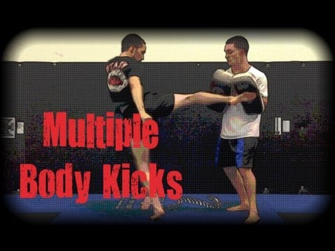 Muay Thai - How to Properly Throw Multiple Body Kicks Image 1