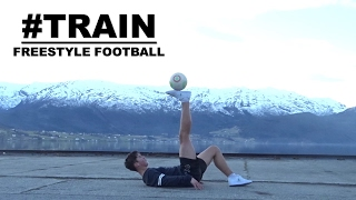 TRAIN 2 | Freestyle Football Training AND Live Show | NEW 4FREESTYLE SHOES