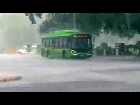Rain in Delhi brings respite from sultry weather conditions