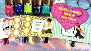 🌻MoYou London Haul & Swatches: Stamping plates & polishes & cuticle guard🌻