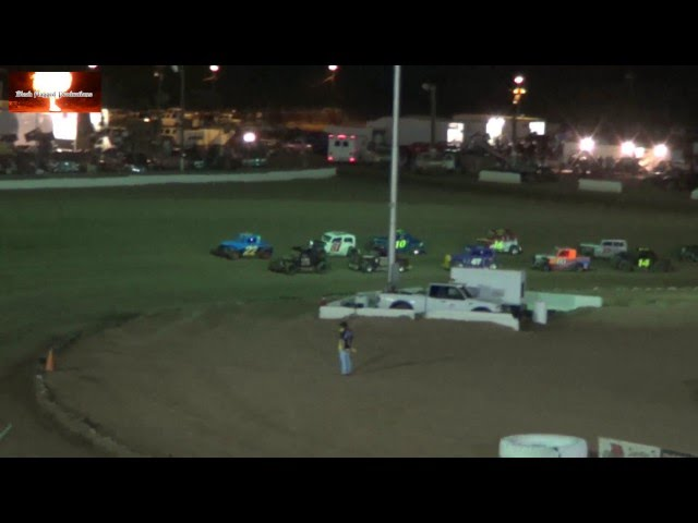 The Dwarf Car Highlight Reel From Canyon Speedway Park Aug 17th 2013