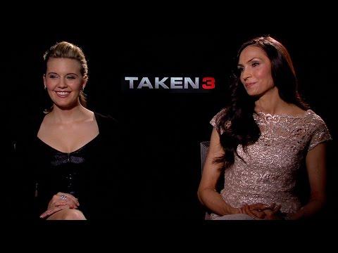 Famke Janssen and Maggie Grace Talk TAKEN 3, HEMLOCK GROVE Season 3 and More