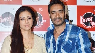 Ajay Devgn & Tabu Promote Drishyam On Radio Fever 104 FM