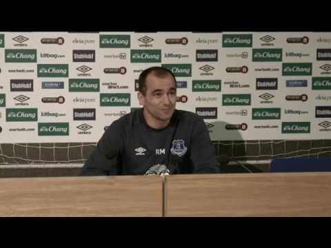 LIVE: Roberto Martinez's pre-Man City press conference