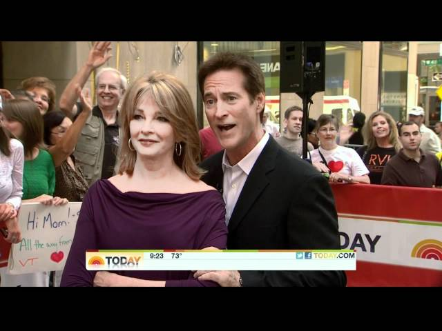 Deidre Hall and Drake Hogestyn on the Today Show, September 26th 2011.