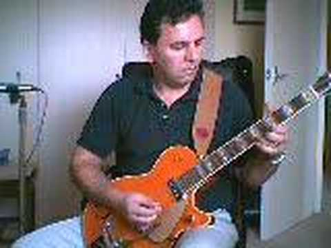 Gene Vincent - cliff gallup style - blue jean bop - Gretsch roundup
