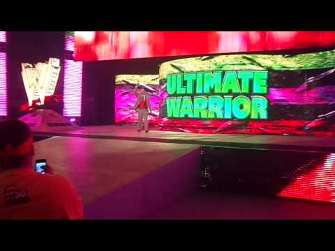 Post WWE Wrestlemania 30 RAW - Ultimate Warrior Entrance