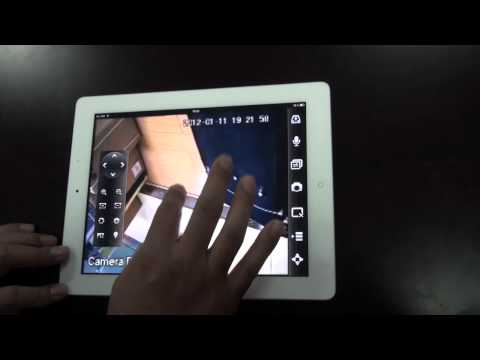 Dahua iPAD Surveillance Software iDMSS-HD Beta Version