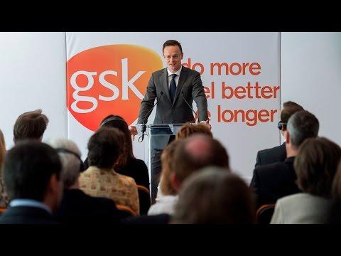 Átadták a GlaxoSmithKline gödöllői vakcinagyárának új termelő részlegét