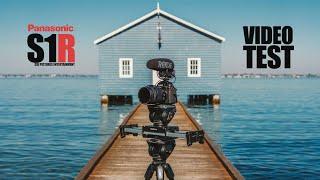 Panasonic Lumix S1-R S1R S1 R 4K 50/60p Cinematic Slowmo Video Test