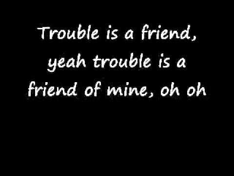 Lenka-Trouble Is A Friend(Lyrics) - YouTube.flv