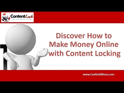 Content Lock WordPress Plugin Review Demo | How to Make Money Online with Content Locking