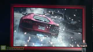 Need for Speed MOST WANTED | First GamesCom 2012 Gameplay (EA Press Conference) | FULL HD