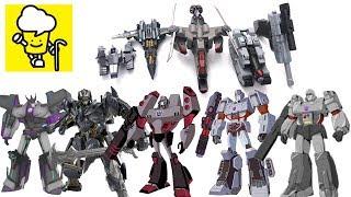 Different Megatron Megatronus Transformer robot toys ランスフォーマー 變形金剛 robots in disguise
