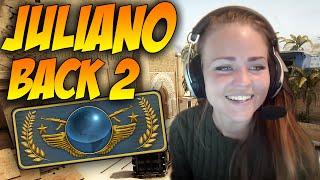 CSGO | juliano - Back to GLOBAL ELITE!