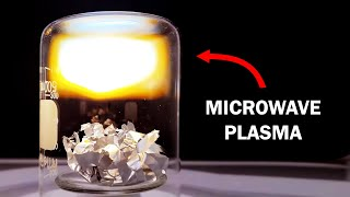 The microwave plasma mystery