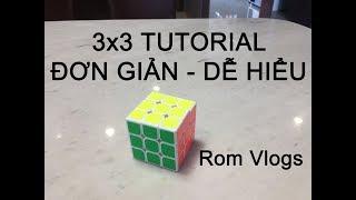 [Series Rubik] Cách Giải Rubik 3x3 Đơn Giản - Dễ Hiểu Cho Người Mới Bắt Đầu