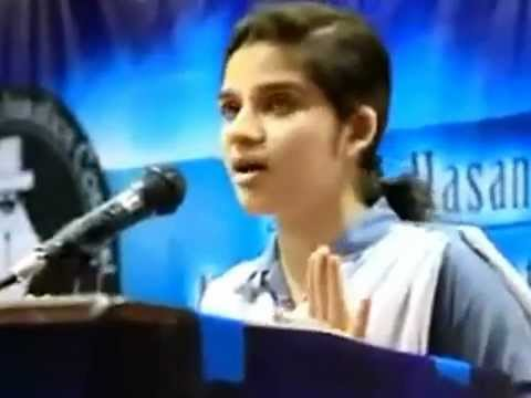 Funny Speech In Urdu University Student video