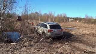 Off Road Test Subaru Outback vs Jeep Grand Cherokee vs Land Rover Discovery