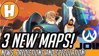 Overwatch - 3 New Maps Incoming! Junkertown/Horizon News in 2017?