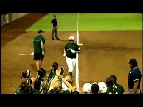 Rainbow wahine softball team make a sweep