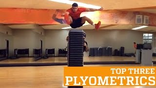 Top Three Plyometric High Jump Exercises | PEOPLE ARE AWESOME