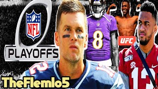 NFL Playoff Predictions! Tom Brady Future! Tua Enters NFL Draft! Antonio Brown vs Logan Paul & More!