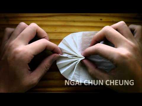 Origami Toilet Paper Fan