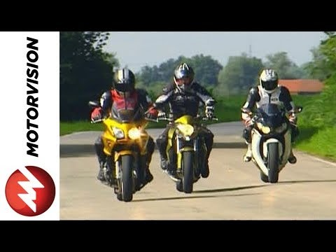 Honda CBF 1000 vs. Honda CB 1000 R vs. Honda Fireblade