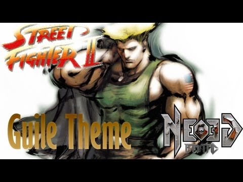 STREET FIGHTER 2 - Guile theme metal guitar cover - Neogeofanatic