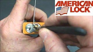 (19) How to Open American Series 1205 w/Spools & Serrated Pins