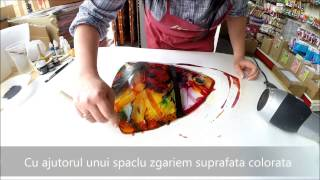 Tutorial tehnici ptr decorarea sticlei - EP. 1 - 31mai 2014