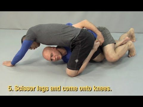 The First Sweep You Should Learn from the Half Guard Image 1