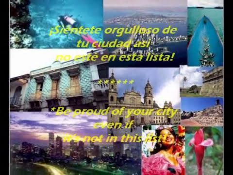 Las mejores ciudades de Colombia por calidad de vida, top 5.