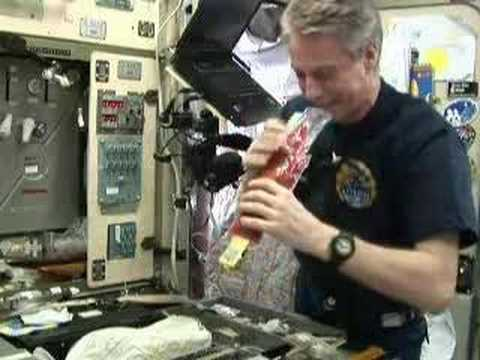 Space food