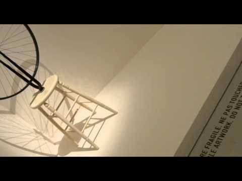 Marcel duchamp la peinture m me porte bouteilles h risson youtube - Marcel duchamp porte bouteille ...