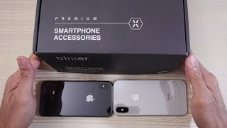 iPhone X in Jet Black?! Olixar iPhone X Cases and Tempered Glass!