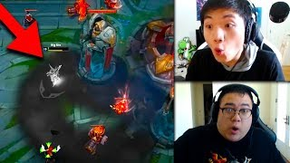 Streamers React to Akali Rework STEALTH UNDER TURRET!? | Imaqtpie Camps Tyler1 | LoL Funny Moments