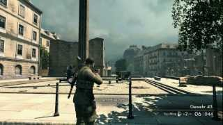 Sniper Elite V2 Longest Head Shot Possible!