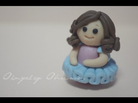Clay Chibi: Little Ballerina