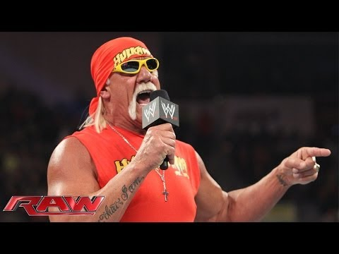 The immortal Hulk Hogan returns to Monday Night Raw: Raw, Feb. 24, 2014